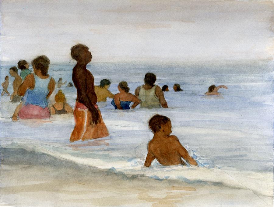 Coney Island Bathers 1