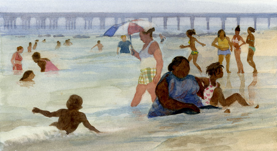 Coney Island Bathers 2