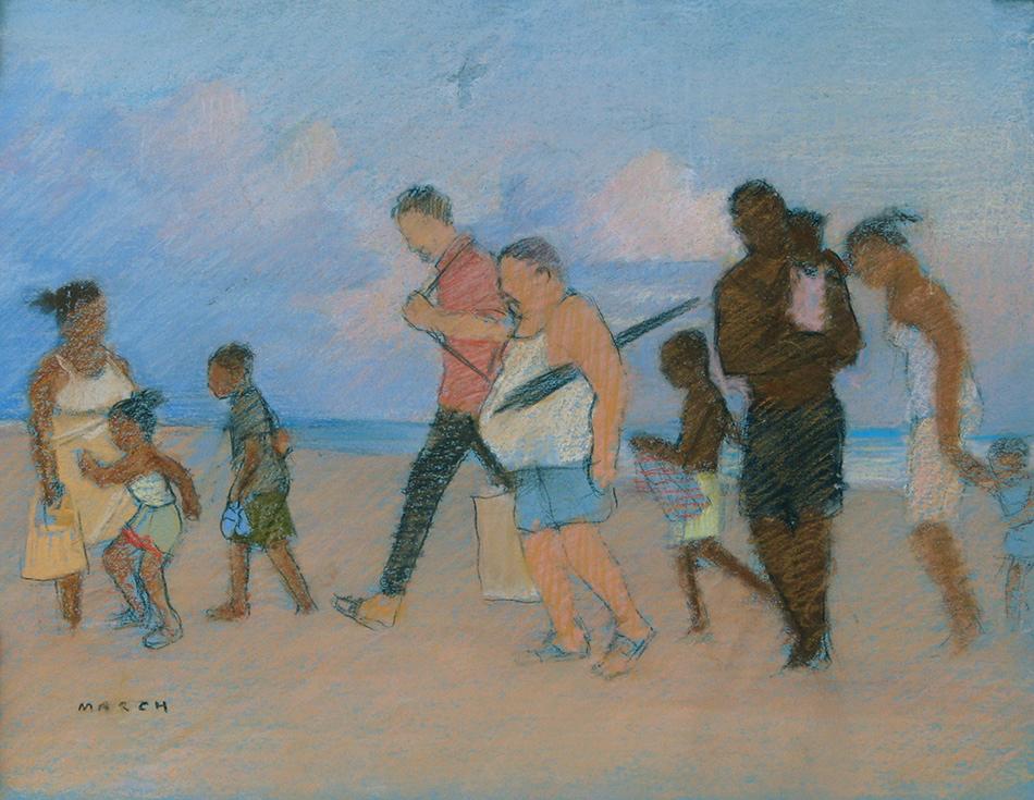 Coney Island Beach Figures