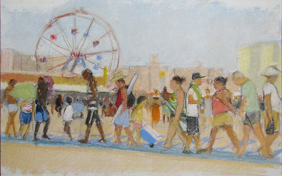 Coney Island Beach Walk