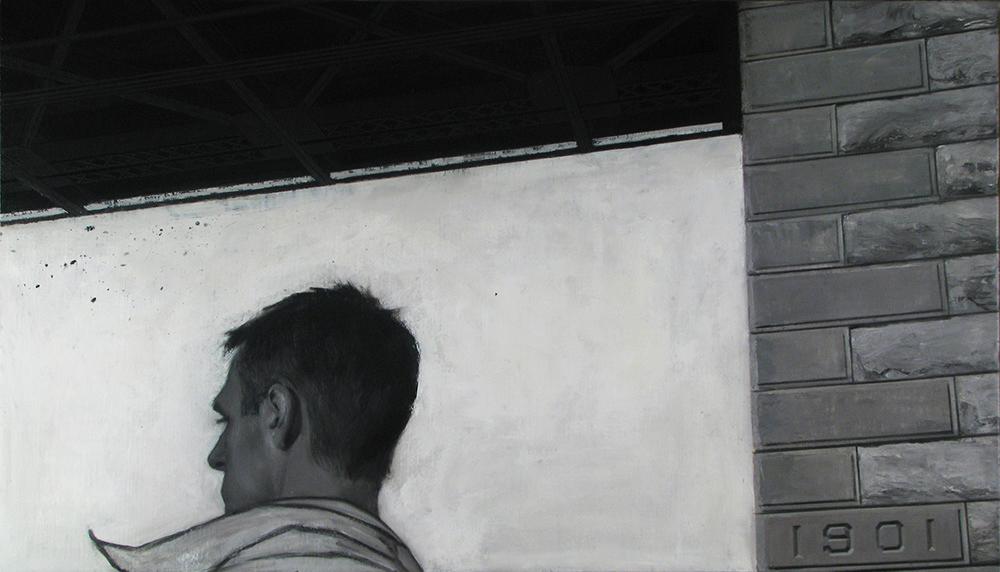 Self Portrait with Queensboro Bridge