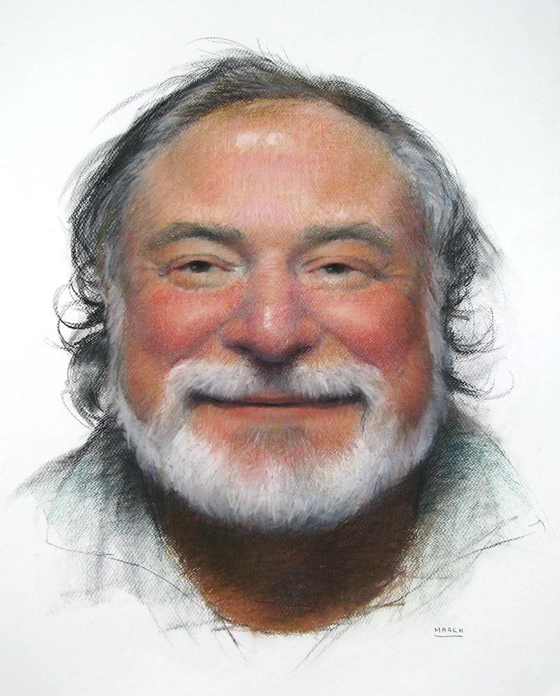 Howard Smiling