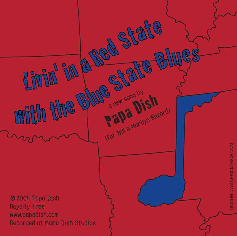 Living' in a Red State with the Blue State Blues