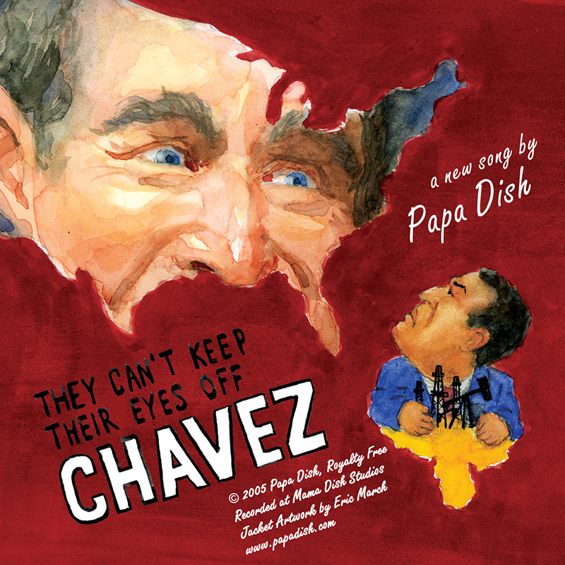 They Can't Keep Their Eyes Off Chavez
