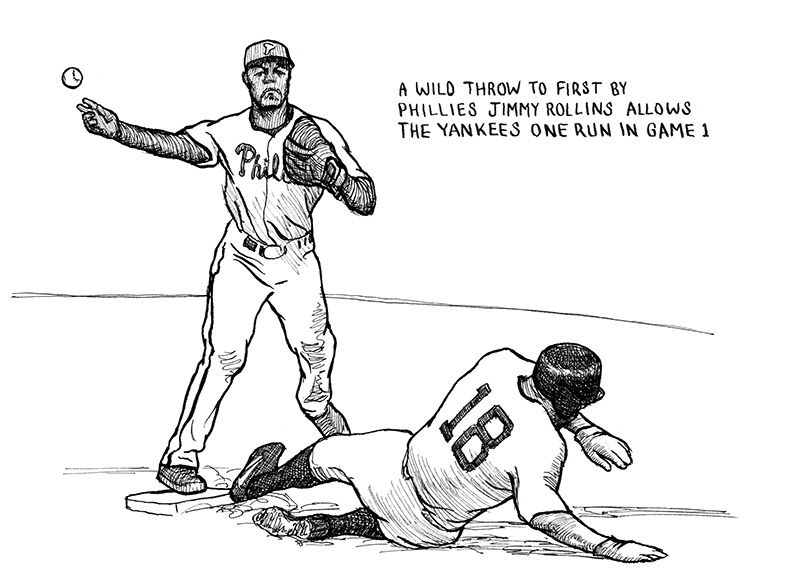 Jimmy Rollins Throws