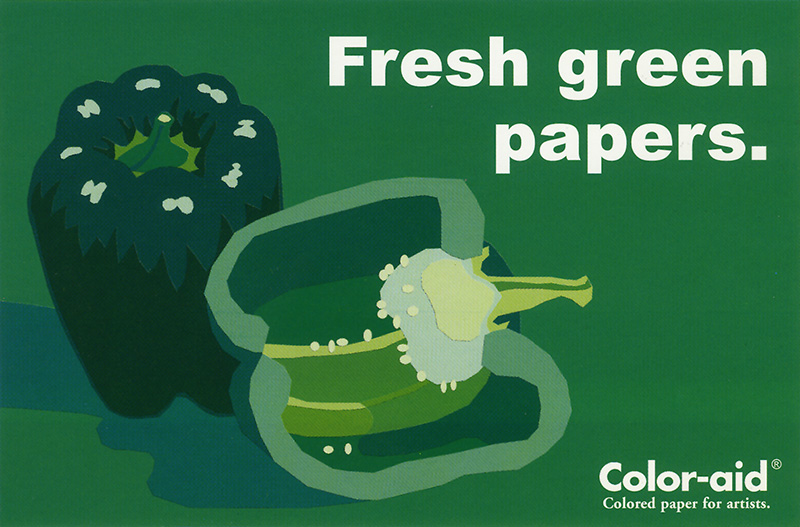 Coloraid Paper: Fresh Green Papers.
