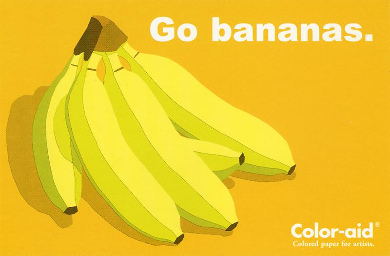 Coloraid Paper: Go Bananas.