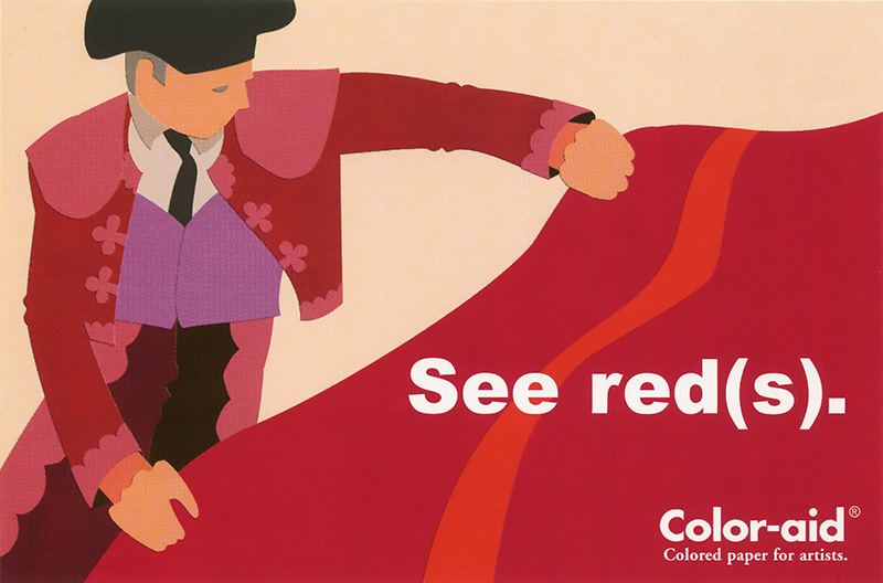 Coloraid Paper: See Red(s).