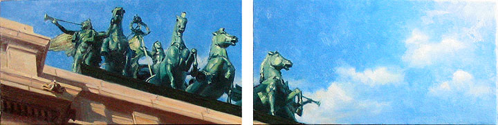 Grand Army Plaza Diptych