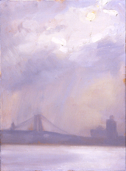 Rainy Dawn, East River