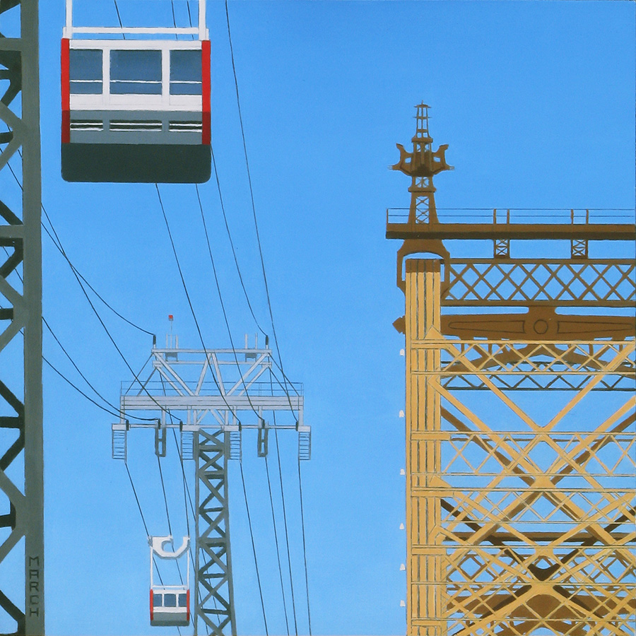Queensbridge and Roosevelt Island Tram