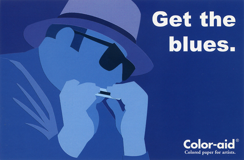 Coloraid Paper: Get the Blues.
