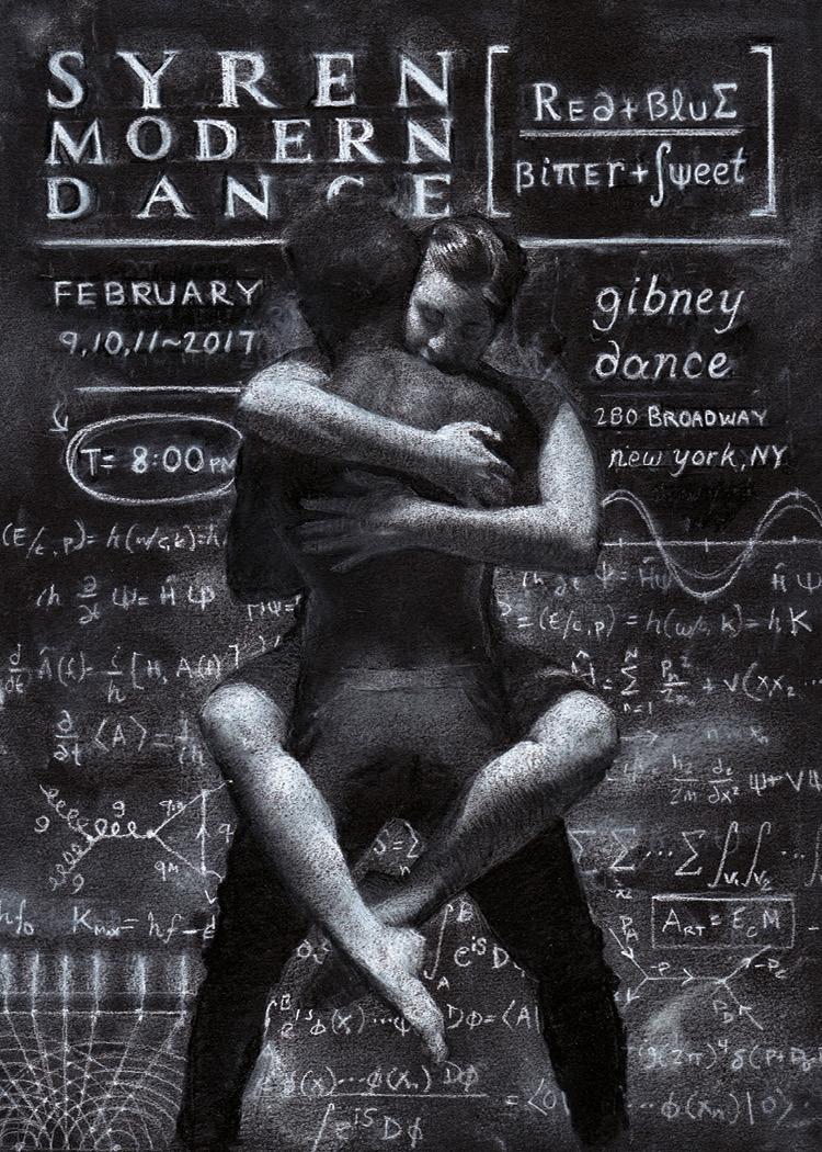 New Poster for SYREN Modern Dance
