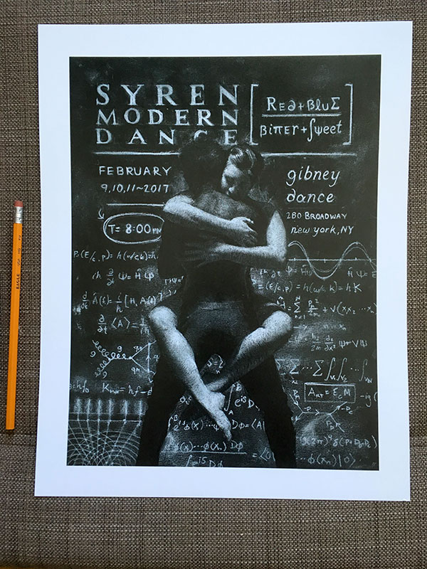SYREN Posters are printed and ready for shipping!