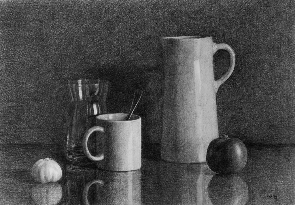Still life drawing