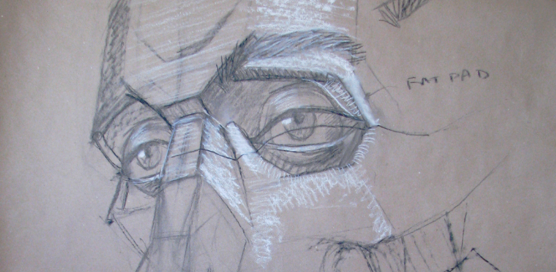 Structural Portrait Drawing Class at CAW