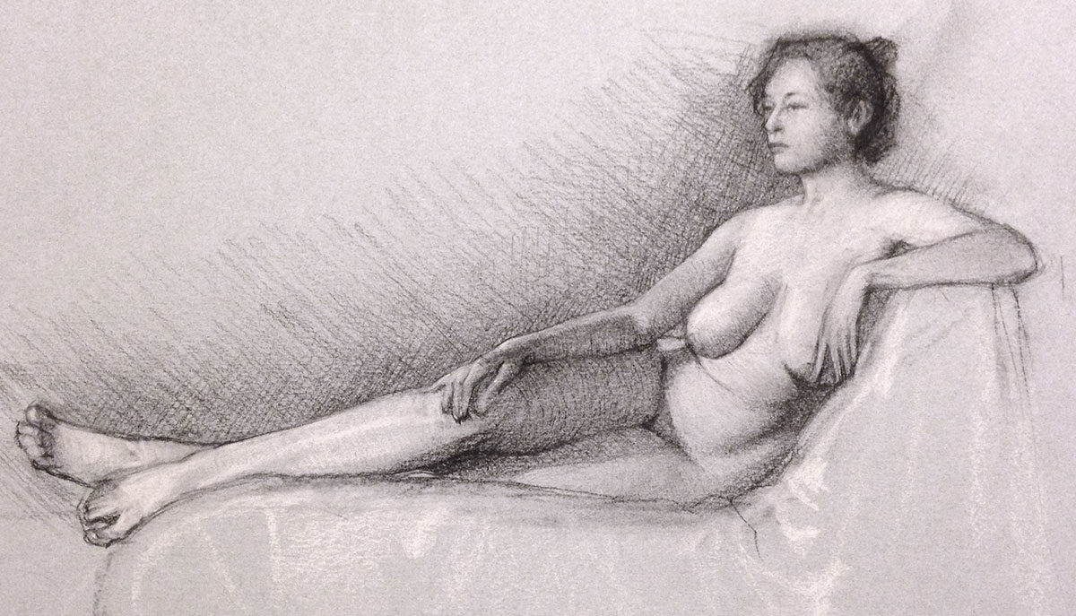 New Class!  Figure Drawing: Rhythm and Structure